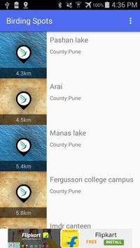 Birding Spots apk screenshot