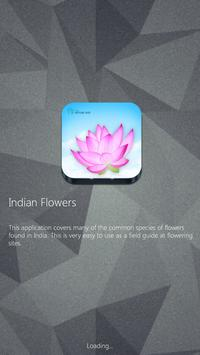 Indian Flowers poster