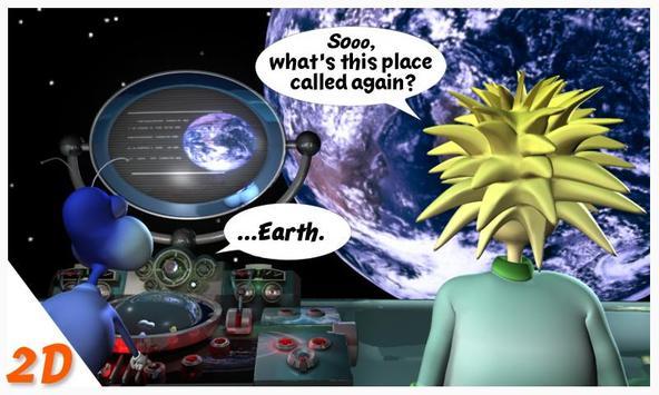 Mook The Comic in 3D (Free) apk screenshot