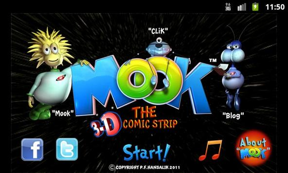 Mook The Comic in 3D (Free) poster