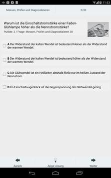 Prüfungscoach Kfz 1 apk screenshot