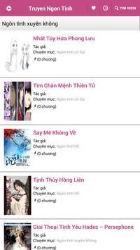 Truyen Ngon Tinh Hay 2016 apk screenshot