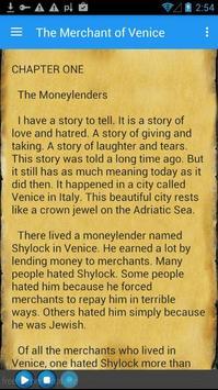 The Merchant of Venice. apk screenshot