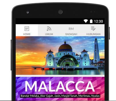Malacca Prayer Times apk screenshot
