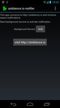 ambience.io Notifier poster