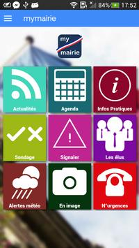 mymairie Application Mobile poster
