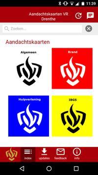 Aandachtskaarten VR Drenthe poster