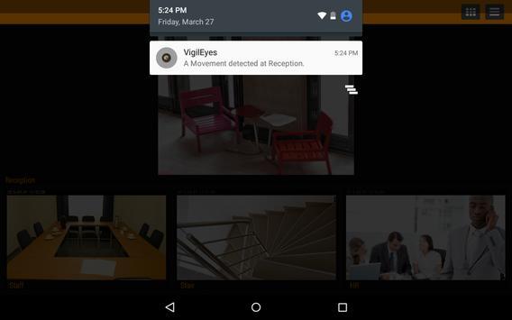 VigilEyes Video Surveillance apk screenshot
