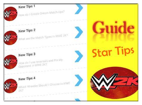 Tips Guide for WWE 2K 17 Pro apk screenshot