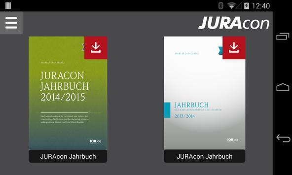 JURAcon Jahrbuch poster