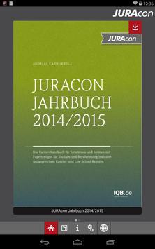 JURAcon Jahrbuch apk screenshot