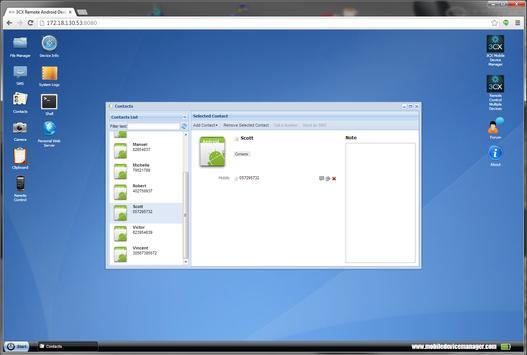 3CX DroidDesktop apk screenshot