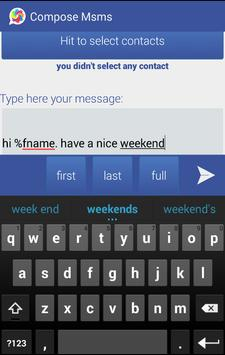 Msms - Personalize Your SMS apk screenshot