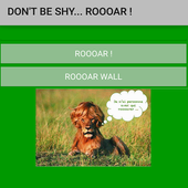 Would you like to ROOAR ? icon
