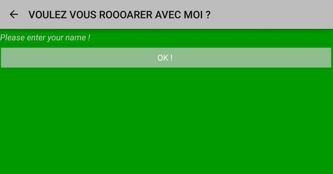 Would you like to ROOAR ? poster