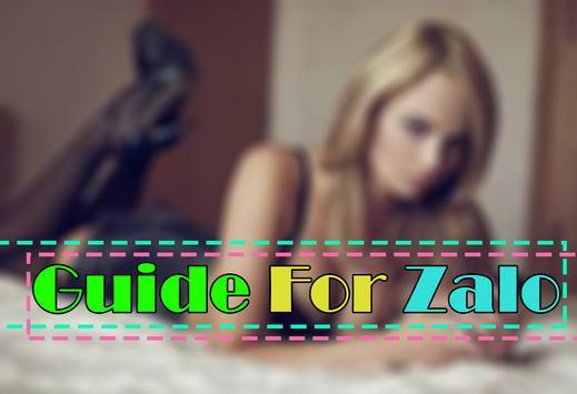 Guide For Zalo Social Dating apk screenshot