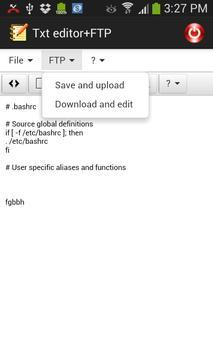 FTP client apk screenshot
