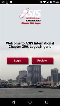 ASIS 206 Lagos poster
