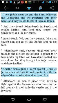 The NLV Bible apk screenshot