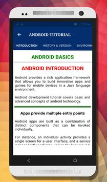 Tutorials for Android and Java poster
