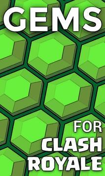 Gems for Clash Royale apk screenshot