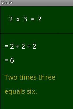 Math3 poster