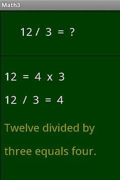 Math3 apk screenshot