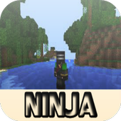 Ninja Mod for Minecraft PE icon