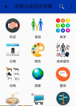 Chinese Uzbek Dictionary poster
