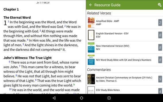 NKJV Bible by Olive Tree apk screenshot