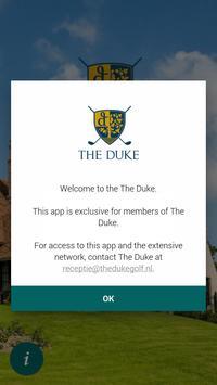 The Duke Business App poster