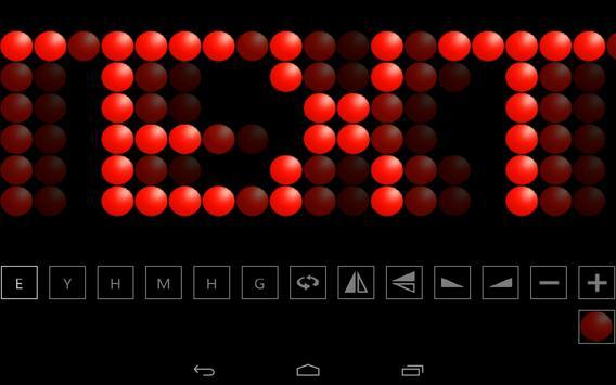 LED's App! - Text LED Scroller poster