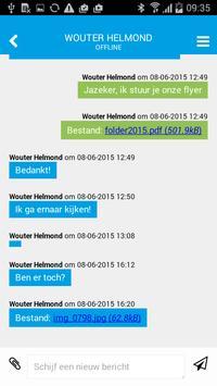 IZIChat voor webites en e-mail apk screenshot