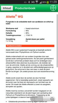 Productenboek BCS apk screenshot