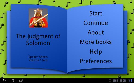 The Judgment of Solomon poster