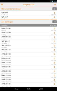 Klachten en Meldingen Mobile apk screenshot