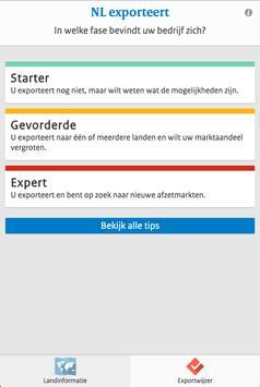NL exporteert apk screenshot