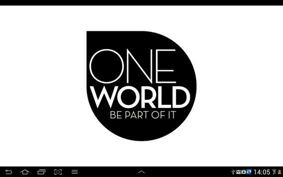 OneWorld Magazine poster