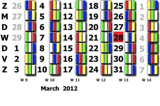 Tata Ploegendienst kalender hi poster