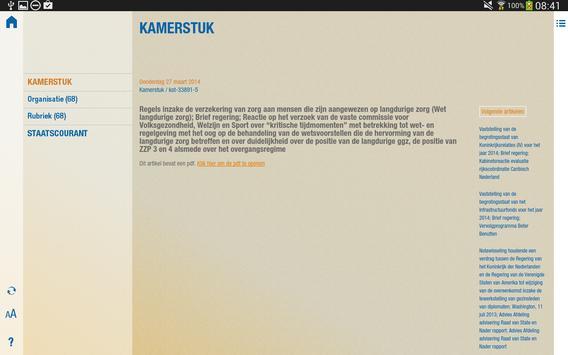 Officiële Bekendmakingen apk screenshot