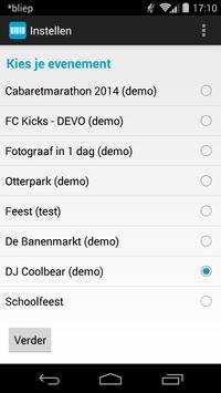 Ticketkantoor apk screenshot