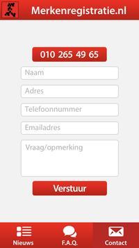 Merkenregistratie apk screenshot