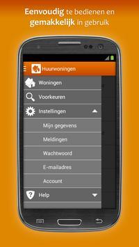 Huurwoningen apk screenshot