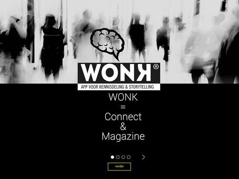 WONK Kennisdeling Storytelling apk screenshot