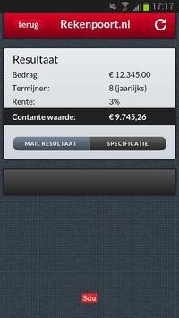 Contante waarde apk screenshot