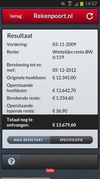 Renteberekening apk screenshot