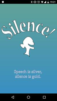 Silence! poster