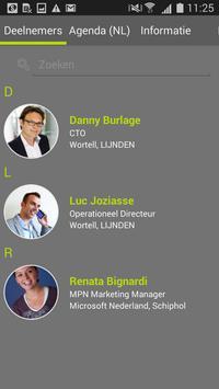 WPC 2015 Deelnemers apk screenshot