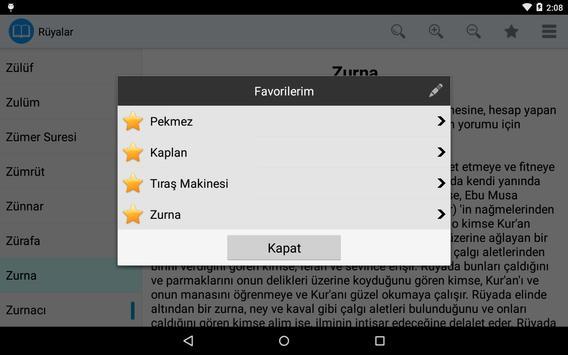 Rüyalar apk screenshot