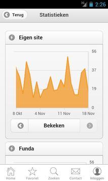 Hoogenraad NVM Makelaars apk screenshot